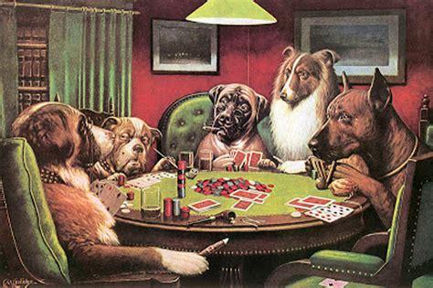 imagenes de animales jugando poker perros jugando al p 243 quer mascotax com