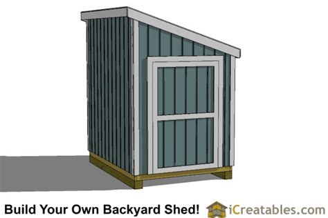 6x10 Storage Shed 6x8 Lean To Shed Plans Icreatables