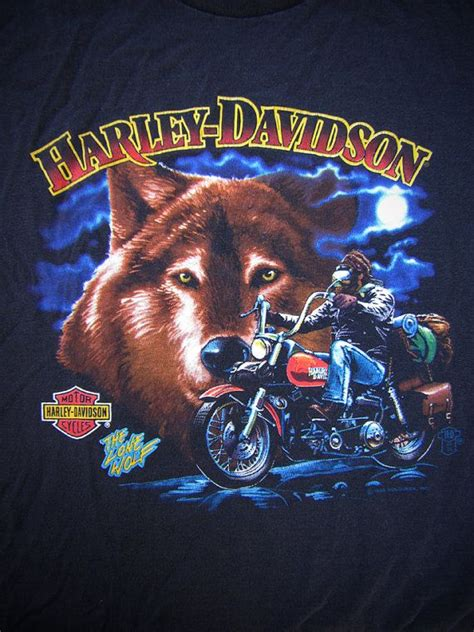 harley wolf for two 1000 images about vintage harley tshirts on pinterest