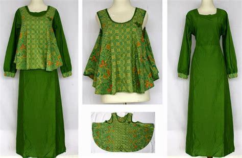 design batik untuk orang gemuk kumpulan contoh model baju gamis untuk wanita gemuk dan