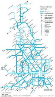 rail map national rail atoc maps