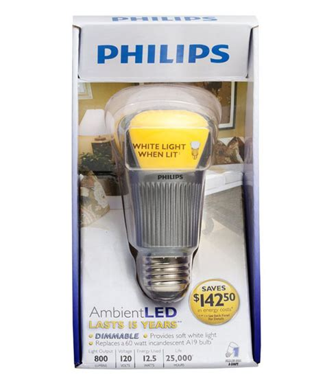 Save Energy With The Philips Dimmable Ambient Led Light Philips Led Light Bulbs Dimmable