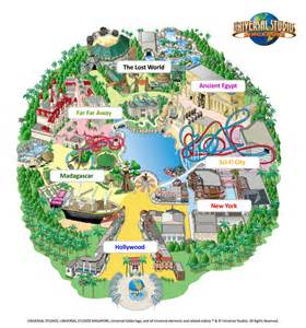 Universal Studios Orlando Interactive Map by Travel 3sixty