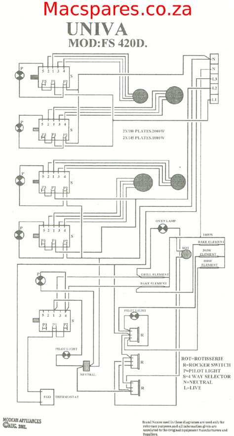 defy stove wiring diagram stove clock wiring diagram