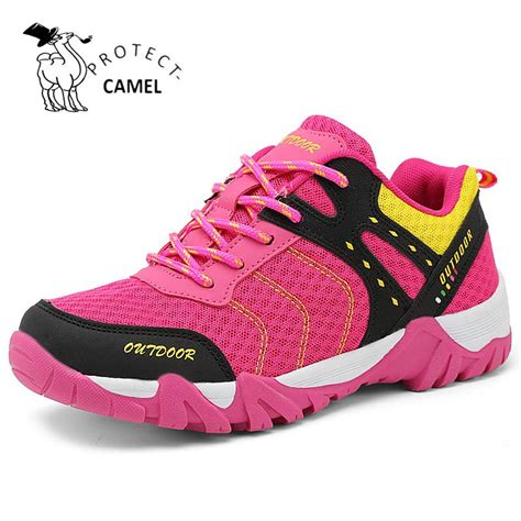 comfortable waterproof walking shoes protectcamel hiking shoes women men waterproof outdoor