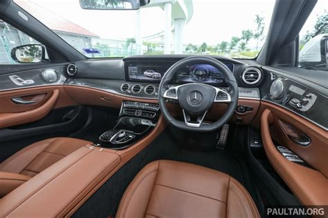 Keys Upholstery Mercedes Benz E350e Plug In Hybrid Launched In M Sia