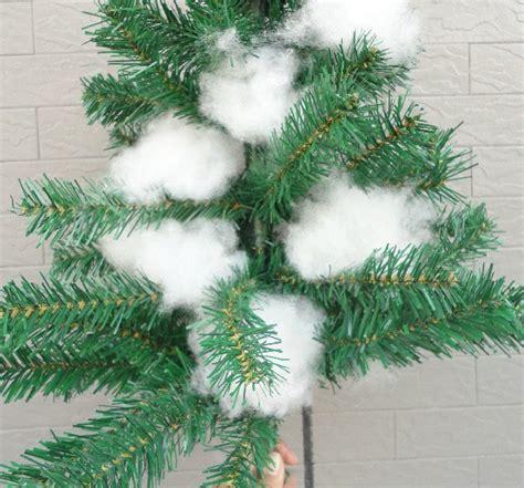white cotton string fake snow adorable cotton decoration ideas godfather style