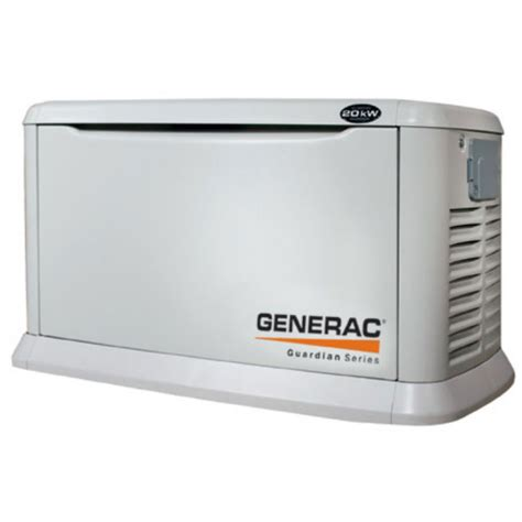 generac 6730 20kw air cooled home standby generator