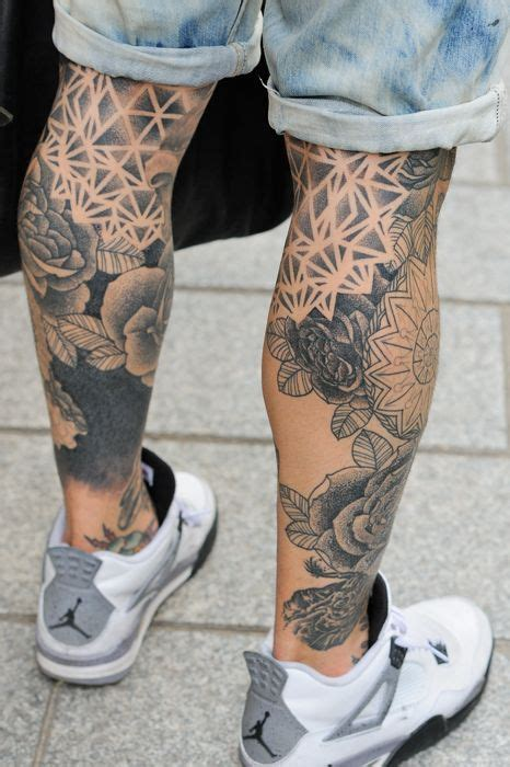 cool calf tattoos for men the 25 best s leg tattoos ideas on