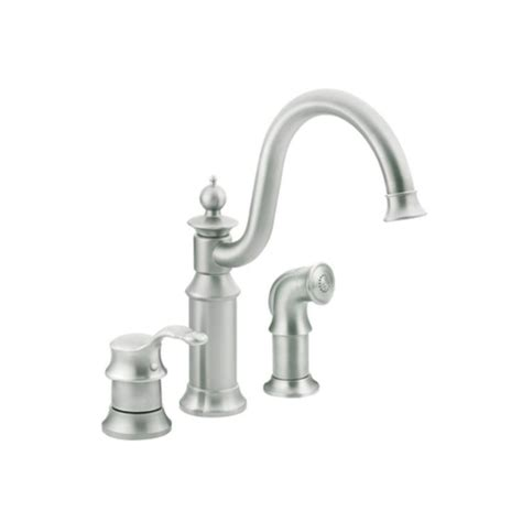 Faucet.com   S711CSL in Classic Stainless by Moen