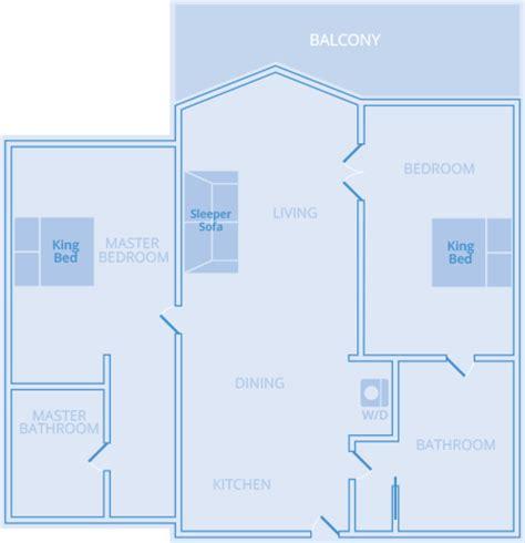parc soleil orlando floor plans two bedroom suite orlando at parc soleil vacatia
