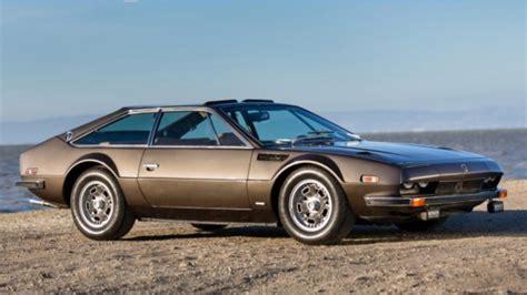 Lamborghini Jarama Lamborghini Jarama Heads To Pebble Auction Autoweek