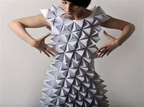 Origami Garments - 20 eco wedding dress ideas