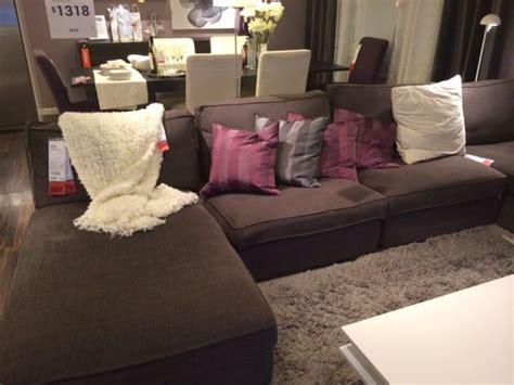 put together sofa kivik sectional put together ikea living room