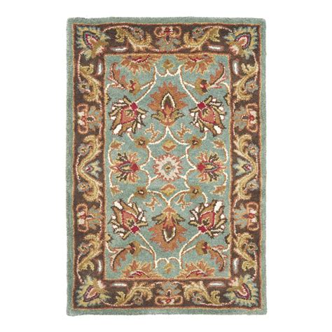 8x10 area rugs lowes safavieh hg812b heritage area rug blue lowe s canada