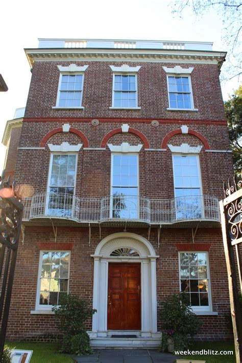 russell house usc nathaniel russell house charleston south carolina weekend blitz