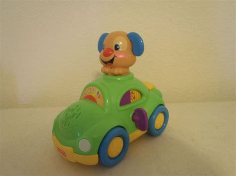 Fisher Price Laugh Learn Puppys Learning Car X2139 fisher price laugh and learn puppy s learning car ebay