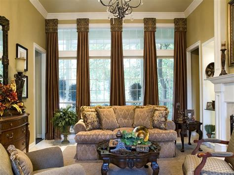 Window Treatments Ideas For Living Room 15 Stylish Window Treatments Hgtv Throughout Traditional Living Room Window Treatments