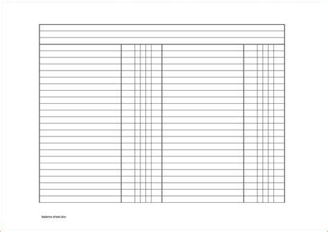Accounting Worksheet Layout Free Printables Worksheet Accounting Template Sheets