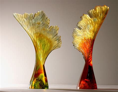 Seed With Wing by Crispian Heath   Glass Sculpture   Sable & Ox