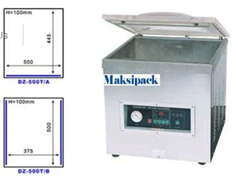 Mesin Vakum Makanan spesifikasi dan harga mesin pengemas vakum toko mesin
