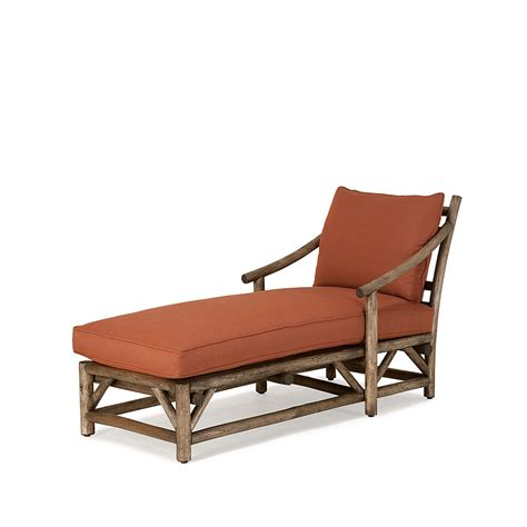rustic chaise lounge chaise 1181 traditional transitional rustic folk