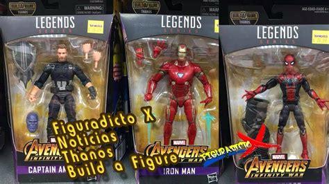 Marvel Legends Iron 48 Infinity War Baf Mcu Thanos figuradicto x noticias marvel legends thanos baf infinity war lanzamiento 2018