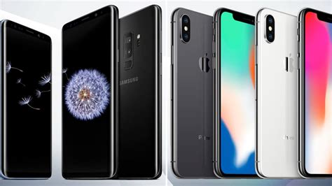 the samsung s9 vs the iphone x how do they compare