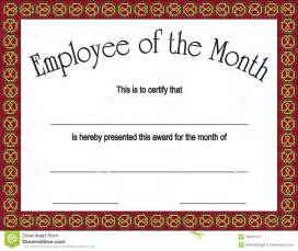 employee of the quarter certificate template