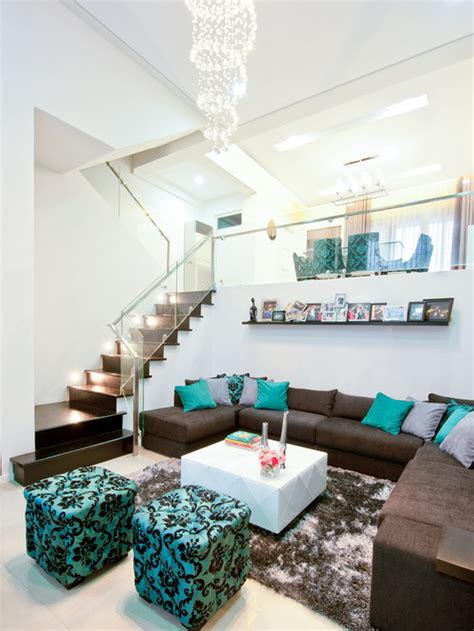 brown turquoise home decor working with brown and teal kovi