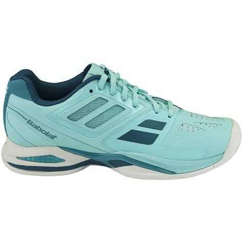 babolat womens propulse team all court tennis shoes blue