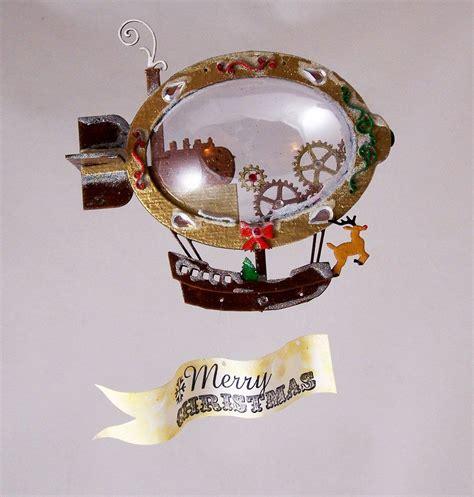 diy punk christmas airship express cutest diy decoration steunk crafts diy