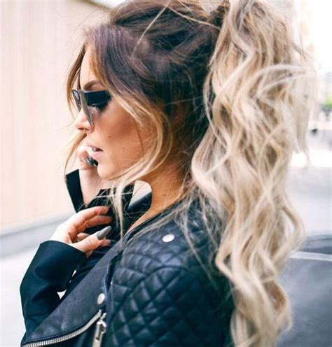 fanny lyckman tutorial best 25 curly ponytail ideas on pinterest curly hair