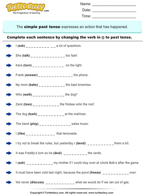 Tense Worksheet by Search Results For Past Present Future Verbs Worksheets