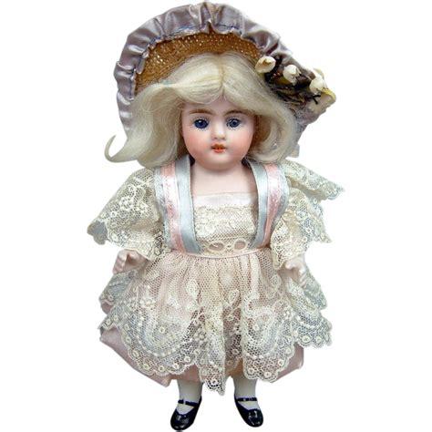 7 bisque doll 7 strobel wilken 257 all bisque antique doll from