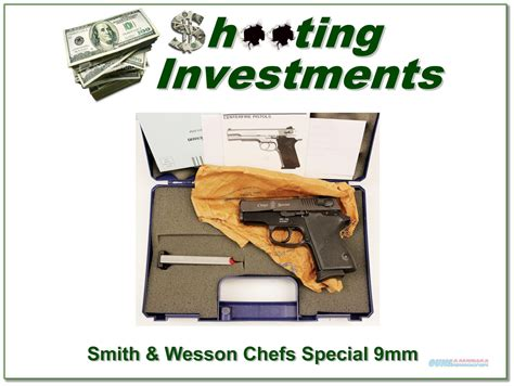 Dvd Box 9mm Gtpro smith wesson cs9 chiefs special 9mm in box
