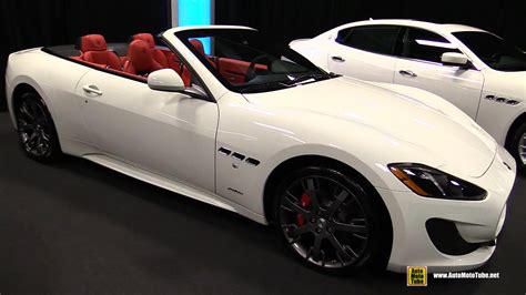 maserati red convertible 2015 maserati granturismo c sport exterior and interior