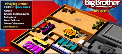 big brother house plan floor plan for big brother house