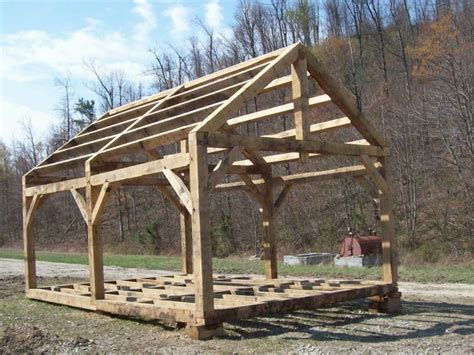 Nice Contemporary Post And Beam House Plans #8: Timber-frame-shed-plans-blueprints--acquire-do-it-yourself-storage-shed-construction-plans.jpg