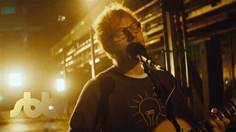 ed sheeran eraser ed sheeran eraser live extended f64 version sbtv10