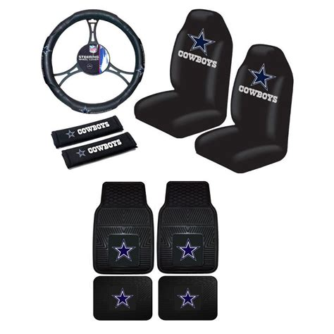 dallas cowboys truck seat covers new nfl dallas cowboys car truck seat covers steering