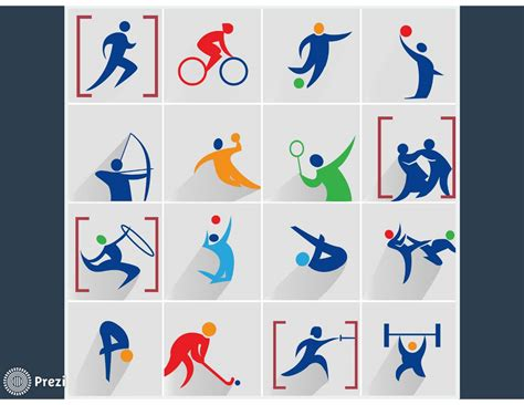 Sport Icons Prezi Premium Templates Sports Template