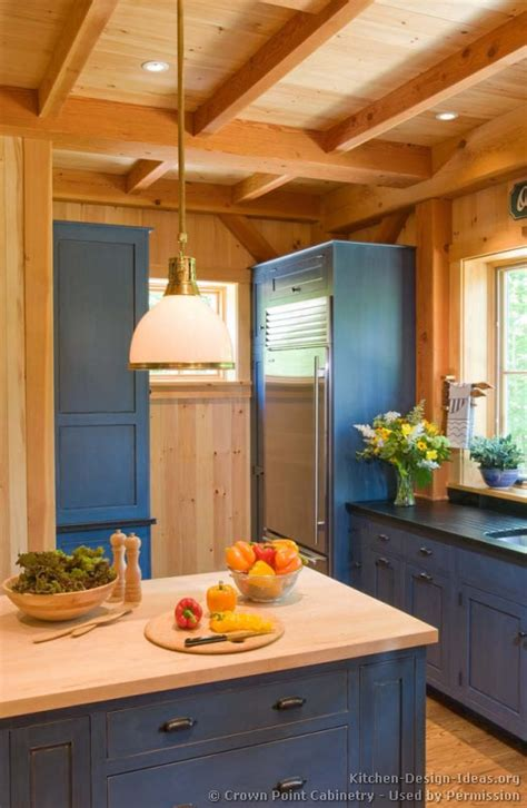 Old Farmhouse Kitchen Ideas Log Home Kitchens Pictures Amp Design Ideas