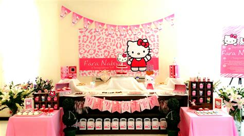 themes for kitty party in march theme hello kitty 2nd birthday its more than just a party