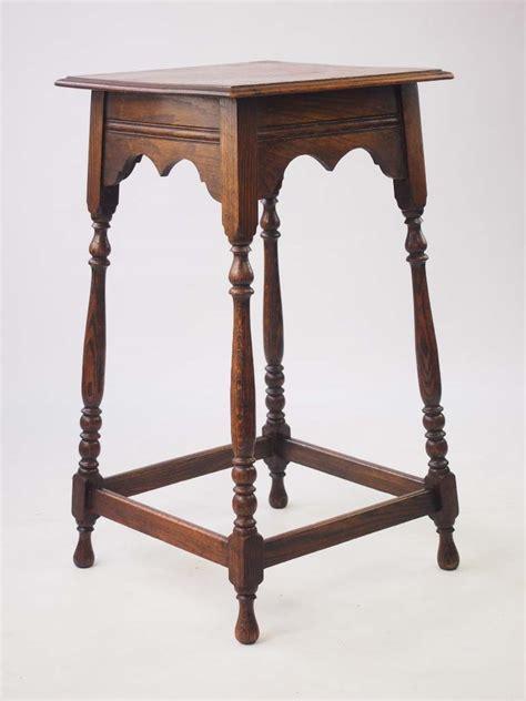 vintage oak occasional table l table