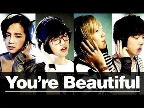 film drama korea you re beautiful you re beautiful 미남이시네요 korean drama book youtube