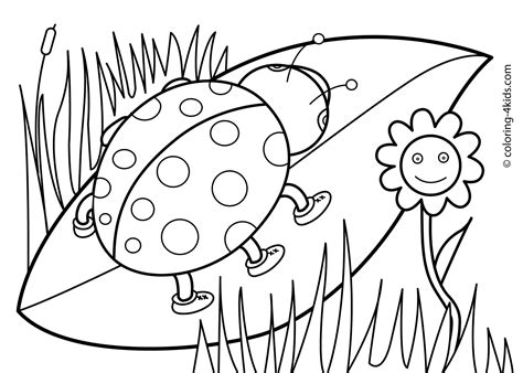 coloring pages flowers coloring town spring flowers coloring pages bloodbrothers collection