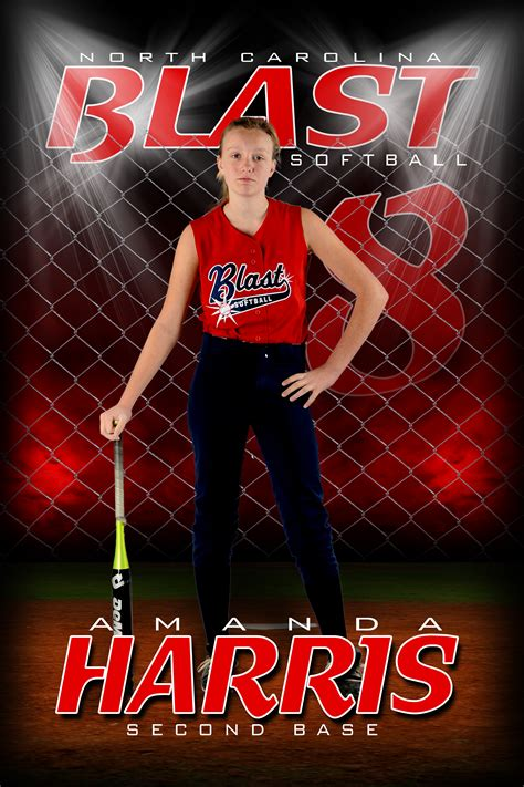 Player Banner Hollarback Customs Llc Softball Team Banner Templates