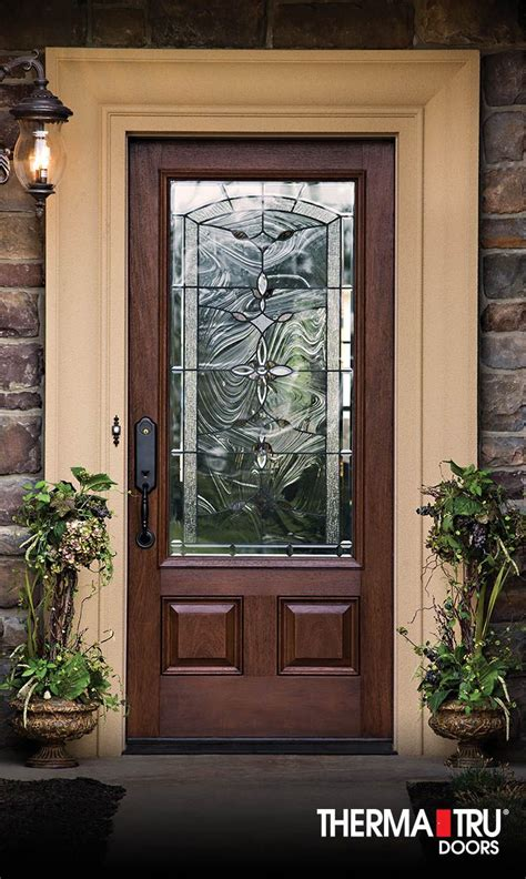 Decorative Glass Front Doors 18 Best Classic Craft Mahogany Collection Images On Entrance Doors Fiberglass Entry