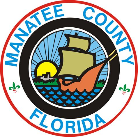 Manatee County Records File Seal Of Manatee County Florida Png Wikimedia Commons